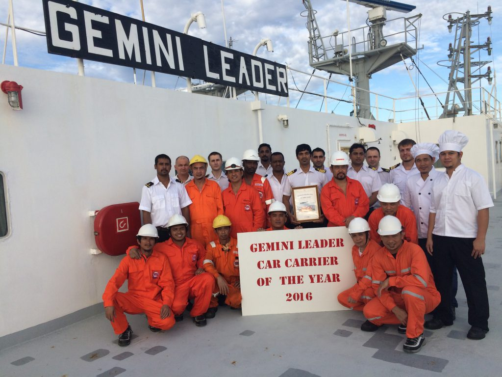 NYK Car Carrier of the Year Award - Wallem
