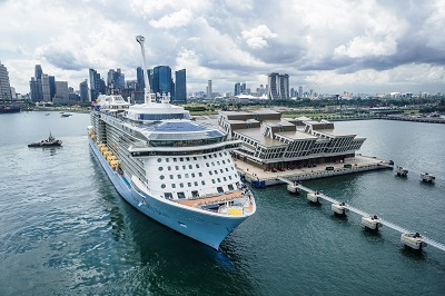 Nothing Left To Chance As Largest Cruise Ship To Visit Asia Arrives In Singapore Wallem